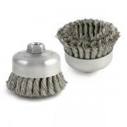 Knot Type - Double Row Cup Brush