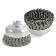 Knot Type - Single Row Cup Brush